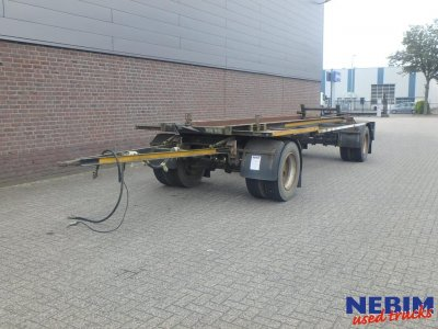 GS Meppel  AC-2000-R Container trailer
