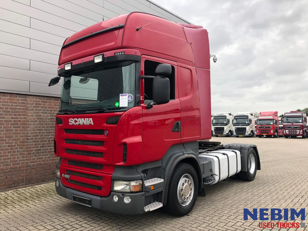 Scania  R420 Euro 5 Manual / Retarder Topline