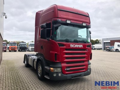 Scania  R420 Euro 5 Manual / Retarder Topline (8)