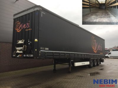 Krone  SD Curtain sider + Side boards