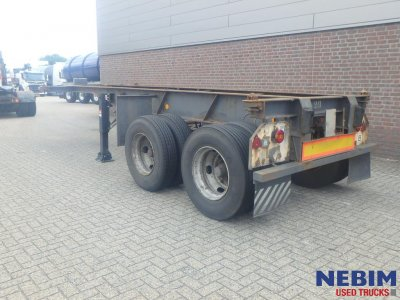 Flandria  COP/2 Steel/spring susp. 20 ft container chassis (3)